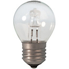 more details on Calex Halogen Golf Ball E27 Clear Glass Dimmable 10 Pack.