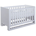 more details on Tutti Bambini Rimini High Gloss White Cot Bed.