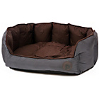 more details on Petface Oxford Large Dog Bed - Chocolate.