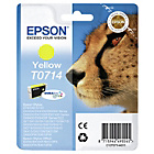 more details on Epson T071 Cheetah Ink Cartridge - Yellow