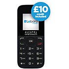 more details on Lebara Alcatel 1013 Mobile Phone - Black.