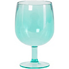 more details on Hothouse Stacking Plastic Wine Glass - Teal.