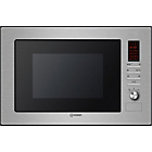 more details on Indesit MWI222.1X Integrated Microwave - Stainless Steel.