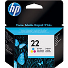 more details on HP 22 Tricolour Ink Cartridge.