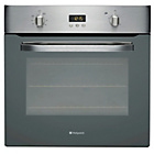 more details on Hotpoint SHS33XS Single Electric Oven - Stainless Steel.