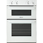 more details on Hotpoint DH51W Double Electric Oven - White.
