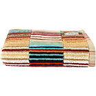 more details on Christy Supreme Capsule Stripe Guest Towel - Spice.