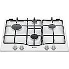 more details on Hotpoint GC640WH Gas Hob - White/Ins/Del/Rec.