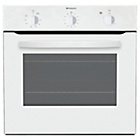 more details on Hotpoint SH31W Built-in Single Electric Oven - White.