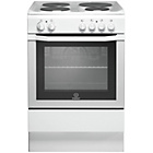 more details on Indesit I6EVAW Electric Cooker - White/Ins/Del/Rec.