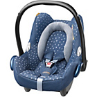 more details on MaxiCosi CabrioFix 0+ Car Seat - Denim Heats.