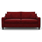 more details on Heart of House Newbury Large Fabric Sofa - Wine.