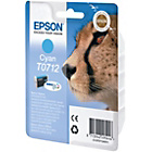 more details on Epson T071 Cheetah Ink Cartridge - Cyan.