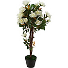 more details on Artificial White Rose Tree.