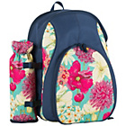 more details on Hothouse Floral 2 Person Picnic Backpack with Bottle Holder.