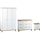 more details on Seconique Arcola 3 Piece 3 Door Wardrobe Package 1.