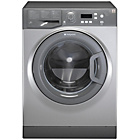 more details on Hotpoint WMAQF641G 6KG 1400 Spin Washing Machine - Graphite.