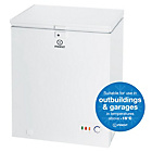 more details on Indesit OS1A100 Chest Freezer - White/Ins/Del/Rec.