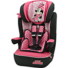 more details on Disney Minnie Mouse Group 1-2-3 Imax High Back Booster Seat.