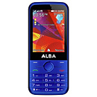 "more details on Alba Sim Free 2.8"" Mobile Phone - Blue."