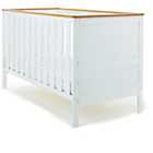 more details on Obaby Newark Cot Bed - White with Pine Trim.