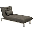 more details on Durdham Fabric Chaise Longue Sofa Bed - Taupe.