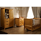 more details on Obaby Lincoln Sleigh 3 Piece Nursery Set - Country Pine.