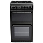 more details on Hotpoint HAG51 Black Single Gas Cooker - Instal/Del/Recycle.