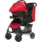 more details on Obaby Monty Travel System - Black and Red.