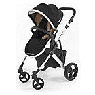 more details on Tutti Bambini Riviera Plus Silver Pushchair -Black and Taupe