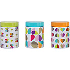 more details on Beau and Elliot Set of 3 Tin Storage Canisters.