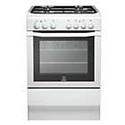 more details on Indesit I6GG1W Gas Cooker - White/Ins/Del/Rec.