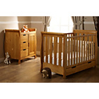 more details on Obaby Lincoln Mini 2 Piece Nursery Furniture Set - Pine.