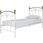 more details on Isla Single Bed Frame - Ivory.