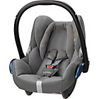 more details on MaxiCosi CabrioFix 0+ Car Seat - Concrete Grey.