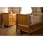 more details on Obaby Lincoln 2 Piece Nursery Furniture Set - Country Pine.