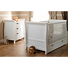 more details on Obaby Lincoln 2 Piece Nursery Furniture Set - White.