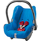 more details on Maxi-Cosi Summer Cabriofix Car Seat Cover - Blue.