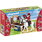 more details on Playmobil Flamenco Horse with Stall.