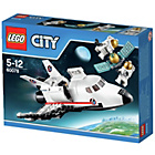 more details on LEGO City Utility Shuttle Playset - 60078.