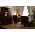 more details on Obaby Lincoln Sleigh 3 Piece Nursery Furniture Set - Dark.