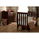 more details on Obaby Lincoln Mini 2 Piece Nursery Furniture Set - Walnut.