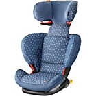 more details on Maxi-Cosi Rodifix Group 2-3 Car Seat - Denim Hearts.