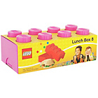 more details on Lego 8 Brick Lunch Box - Pink.