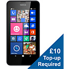 more details on EE Nokia Lumia 635 Mobile Phone - Black.