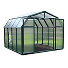 more details on Palram Rion Hobby Gardener Green Greenhouse - 8 x 8ft.