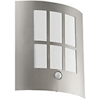more details on Eglo City Outdoor LED Sensor Wall Light.