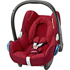 more details on MaxiCosi CabrioFix 0+ Car Seat - Robin Red.