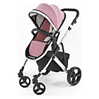 more details on Tutti Bambini Riviera Plus Silver Pushchair - Pink and Grey.