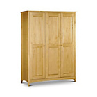 more details on Kendal Solid Pine 3 Door Wardrobe.